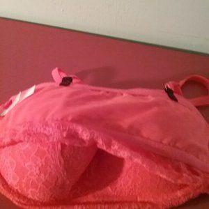 PINK Victoria's Secret Other - Victoria's Secret PINK Laced Push Up Bralette Bra